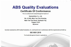 ABS Quality Evalutions
